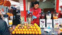 Pandemide esnafa vitaminli iş: Meyve suyu sayesinde ciroya katkı