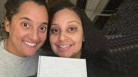 Aynı iş yerinde çalışan iki kadına sürekli birbirlerine çok benzedikleri söyleniyordu: Kardeş oldukları ortaya çıktı