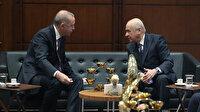 Cumhurbaşkanı Erdoğan ve MHP Genel Başkanı Bahçeli'den samimi pozlar