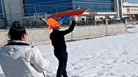 Selçuk Bayraktar paylaşmıştı: Vanlı kızların yaptığı model uçak havada 20 dakika kalabiliyor