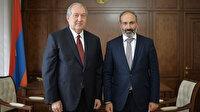 Ermenistan Cumhurbaşkanı Sarkiyan'dan Başbakan Paşinyan'a ikinci ret