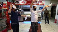Düzce'de lokantacılar, kafe ve restoranların açılmasını halay çekerek kutladı