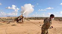 Milli Savunma Bakanlığından Libyalı askerlere 'havan eğitimi'
