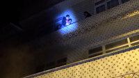 Bursa'da 3 katlı apartmanda yangında can pazarı