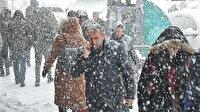 Meteoroloji son tahminlerini açıkladı: Bazı illere kar yağışı uyarısı