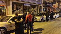 Kaza sesini duyarak evlerinden çıkanlar büyük şok yaşadı: Alkollü şahıs park halindeki 6 araca çarptı