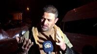 Bitlis'te yaralı askerlere yardım eden vatandaş konuştu: Karları ellerimle kazarak çıkardım