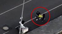 Samsun'da kablo hırsızları önce kameraya, ardından polise yakalandı