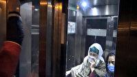 İstanbul'da metrobüs asansöründe mahsur kalan iki kadın kurtarıldı