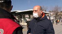 Polisi görünce maskesini taktı: Ceza yemekten kurtulamadı