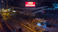 Saraybosna'dan New York'a mesaj: Love Erdoğan