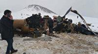 Milli Savunma Bakanlığı: Askeri helikopterin düşme nedeni olumsuz hava şartları