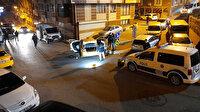 İstanbul'da hareketli anlar: Polis denetiminden taksiciye silah dayayıp kaçtılar!
