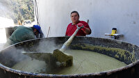 Bir ton zeytinyağından bin 500 kilo sabun yapıyor: Bu mesleği 150 yıldır yapıyoruz