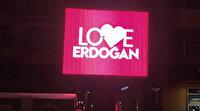 New York'taki FETÖ propagandasına Ordu'dan yanıt: Love Erdoğan