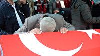 Bitlis şehidi Astsubay Kıdemli Başçavuş Demir' acı veda: Gözyaşları sel oldu