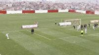Lider GZT Giresunspor'un maçında tartışmalı pozisyon