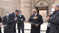 Bakan Çavuşoğlu Özbekistan'da: Hive kenti muhteşem güzellikte bir yer