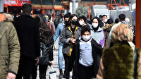 'Kırmızı' Konya'da bahar havası koronavirüsü unutturdu: Caddeler tıklım tıklım