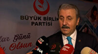 Mustafa Destici'den İmamoğlu'na Kadınlar Günü paylaşımı tepkisi: Pervin Buldan'ı paylaşması akla ziyan bir şeydir