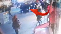 Gazeteci Levent Gültekin'e saldırı anı kamerada