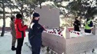 Görevli kadın jandarmalar kahramanlık simgesi Nene Hatun'u unutmadı