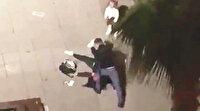 Eski eşini sokak ortasında öldüresiye dövdü: Bunu dışarı salmayın!