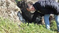 Bursa'da ilginç gelenek: Kayanın etrafında üç tur atıp böcekleri yutuyorlar