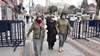 Çok yüksek riskli illerden Edirne'de merkezdeki caddelerde '4 metrekareye bir kişi' kuralı uygulanacak