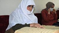 84 yaşındaki Hamide Nine belediye kurslarında Kur'an-ı Kerim öğrendi