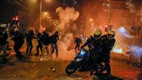 Atina yanıyor: Sokaklar savaş alanına döndü