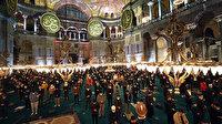 Miraç mucizesi Mi'raciye ile Ayasofya Camii'nden yankılandı