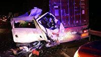 Osmaniye'de 5 aracın karıştığı zincirleme trafik kazasında 1 kişi öldü, 4 kişi yaralandı