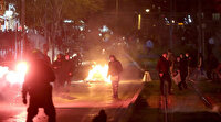 Atina'da sokaklar alev alev: Ortalık savaş alanına döndü