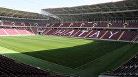 Hatayspor yeni stadına kavuştu: Fenerbahçe ile açılış maçı yapılacak