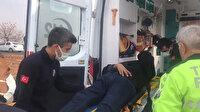 Şanlıurfa'da Meral Akşener'in konvoyu kaza yaptı