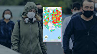 Edirne'den Kars'a Türkiye'nin koronavirüs yoğunluk haritası güncellendi