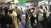 İstanbul metrolarında bilindik manzara: Mesafesiz yolculuk koronaya davetiye çıkarıyor