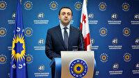Gürcistan Başbakanı Garibaşvili'den Türkiye'ye teşekkür