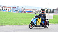 Düldül ile iyilik mesaisi: Sokak hayvanları için motosiklet aldı sokak sokak dolaşıyor