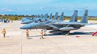 Suudi F-15'leri Girit'te