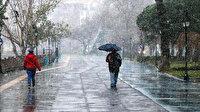 Karadeniz'in iç kesimleri ile Doğu Anadolu'da yarın karla karışık yağmur ve kar etkili olacak