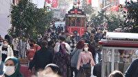İstiklal Caddesi tıklım tıklım: Yoğunluk nedeniyle belirli sürelerle kapatıldı