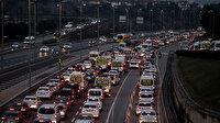 İstanbul'da kısıtlama sonrası trafik yoğunluğu yüzde 55 oldu
