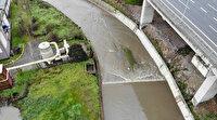 Atık suyun arıtılmadan aktarılmasının sonucu kötü oldu: Bu dere Ömerli Barajı'na su taşıyor