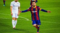 Lionel Messi rekor kırdı: Barcelona farklı kazandı (ÖZET)