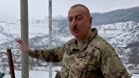 Azerbaycan Cumhurbaşkanı Aliyev'den Hocavend ve Fuzuli'ye ziyaret