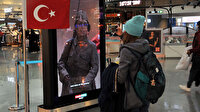 İstanbul Havalimanı'nda Çanakkale Zaferi projesi 'Dinle Yolcu'