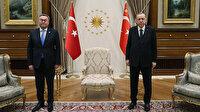 Cumhurbaşkanı Erdoğan, Kazakistan Başbakan Yardımcısı ve Dışişleri Bakanı Tileuberdi'yi kabul etti