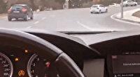 Ataşehir'de drift yapan maganda cezadan kurtulamadı